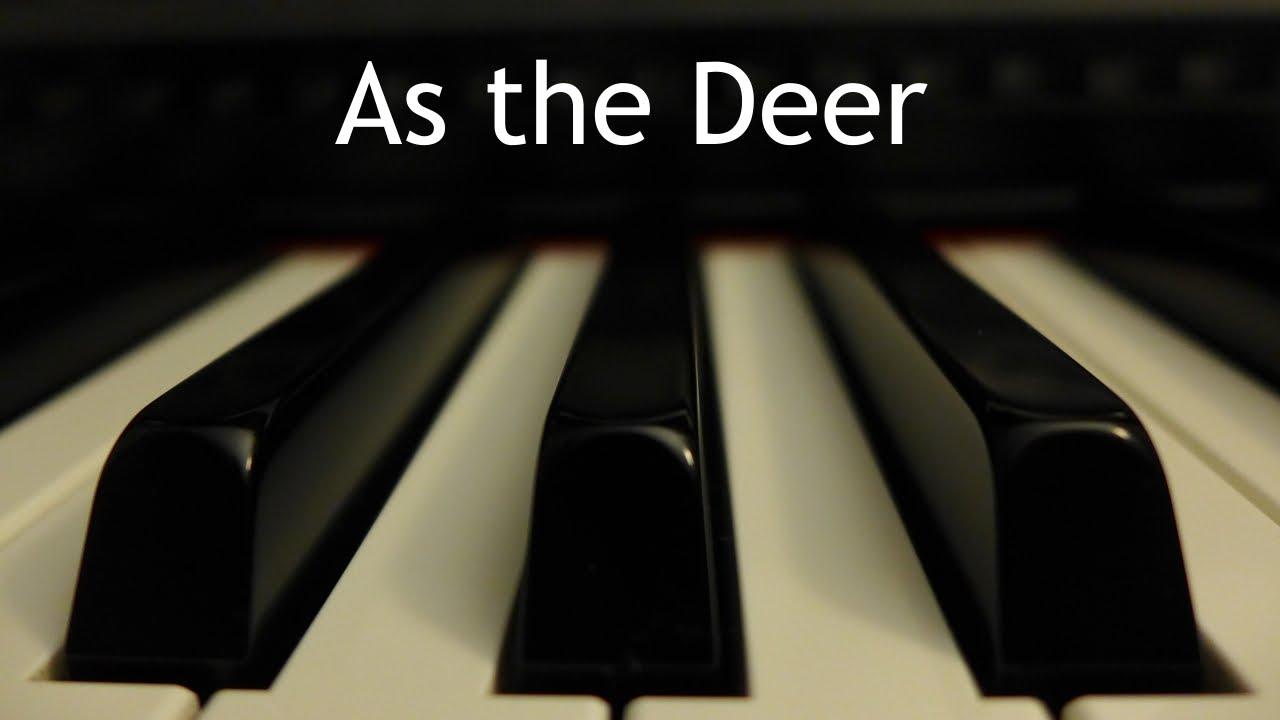 Como el Ciervo | Instrumental piano - Kaleb Brasee