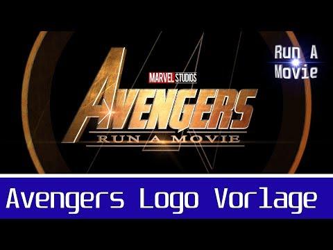 avengers:-infinity-war-logo-vorlage-hitfilm-pro-tutorial-(deutsch/german)- -logo-vorlagen