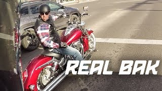 SURPRISED THE REAL BIKER + Extreme Sport Bike FAIL!