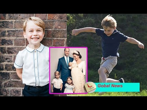 Gorgeous Prince George! Charming new portrait of the fiveyearold is released by proud