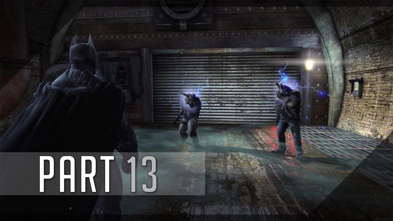 Batman: Arkham Origins (Hard) 100% Walkthrough 13 (The ...