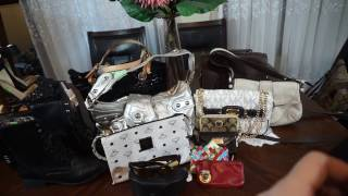 Thrift Haul Designer Michael Kors Coach Marc Jacobs Gucci