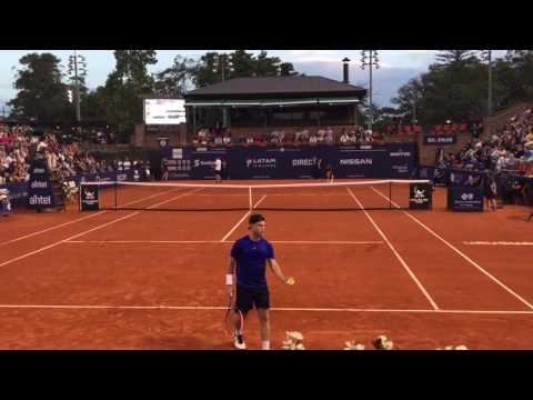 Ultimo Game Diego Schwartzman def Rogerio Dutra Silva 6-4 6-1 Campeón Uruguay Open