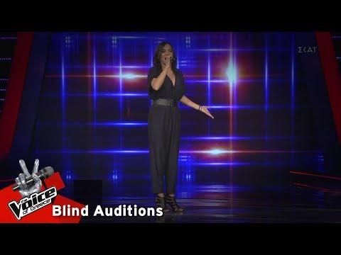 Χριστίνα Γεράνη - Μια πίστα από φώσφορο | 13o Blind Audition | The Voice of Greece