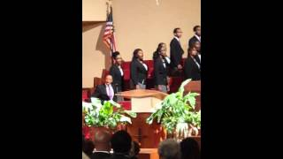 "Wiley College A Capella Choir singing ""I Couldn't Hear Nobody Pray."""