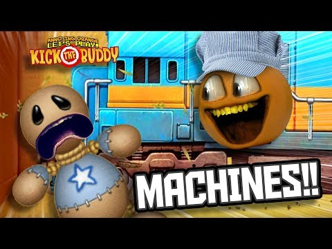 Kick The Buddy - Machines #1