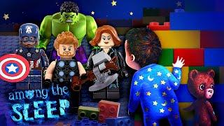 Обзор игр для мальчиков - Лего Мстители и Амонг зе слип (Among the Sleep)! - Онлайн видео для детей.