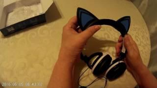 Lobkin Cat Ear Headphones