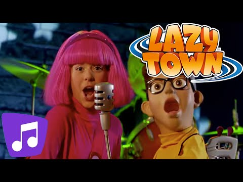 Lazy Town | The World Goes Round Music Video
