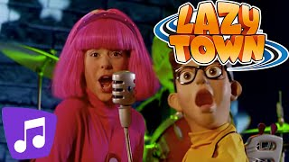 The World Goes Round Music Video | LazyTown