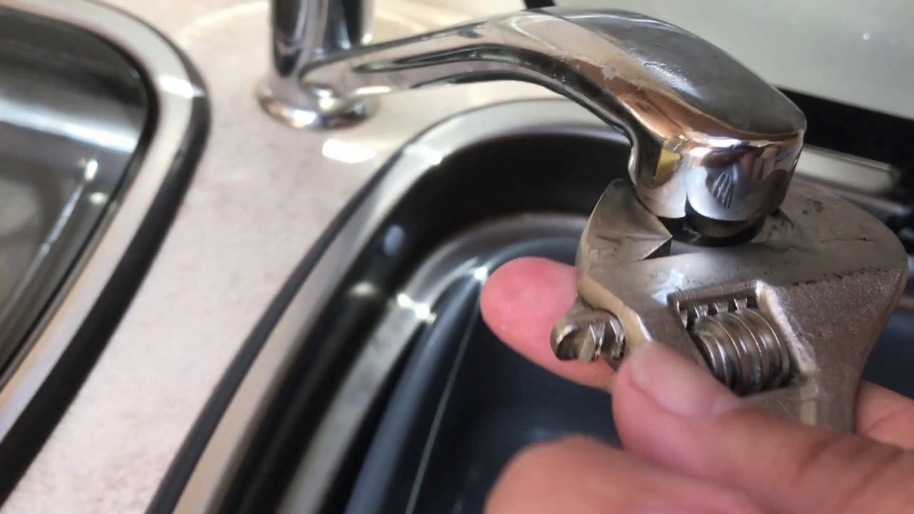 Whale Mixer Tap Air Lock Blockage Motorhome / Caravan - YouTube