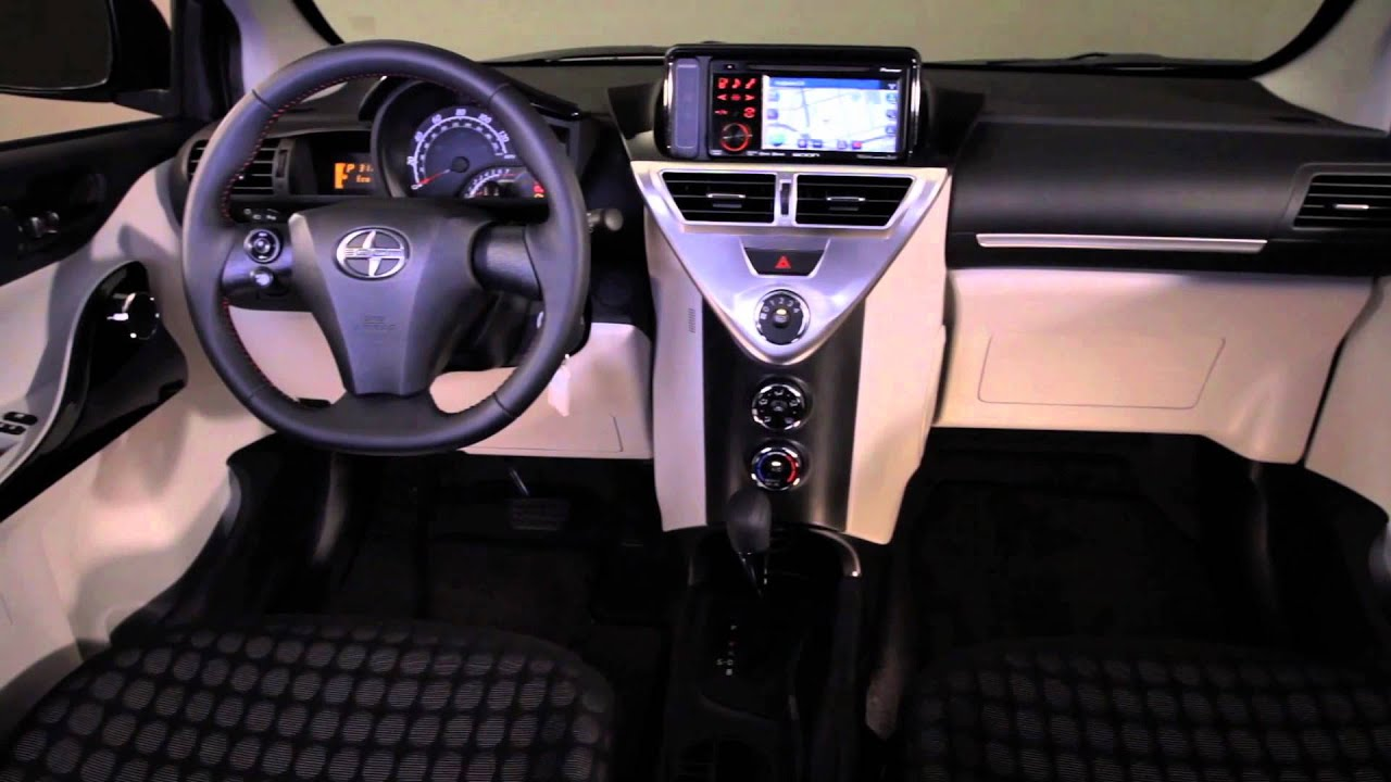 2013 Scion Iq Interior Walkaround Youtube