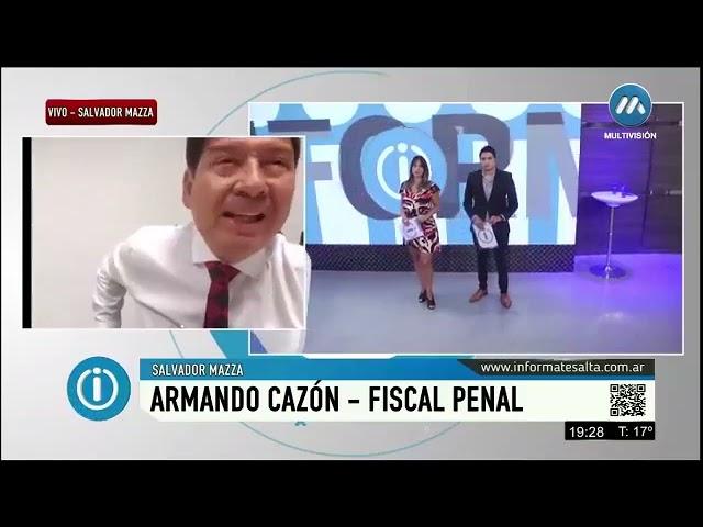 Denuncias entre fiscales, Cazón se defiende