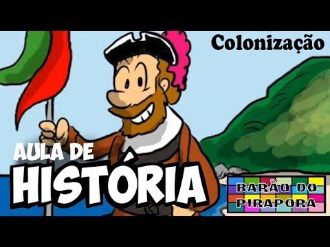 Aprendendo com Videoaulas: História: Colonização Portuguesa no Brasil