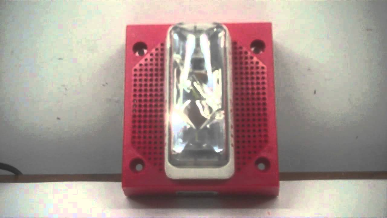 Est Edwards 732 5a 006 Fire Alarm Test