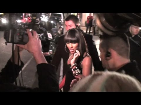 Alexandra Burke and Dexter Fletcher leaving the D & G party in London, UK