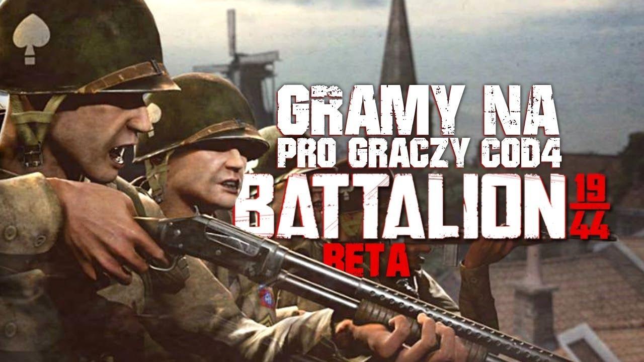 GRAMY NA PRO GRACZY COD4 – Battalion 1944 (PL) #2 (Beta Gameplay PL)