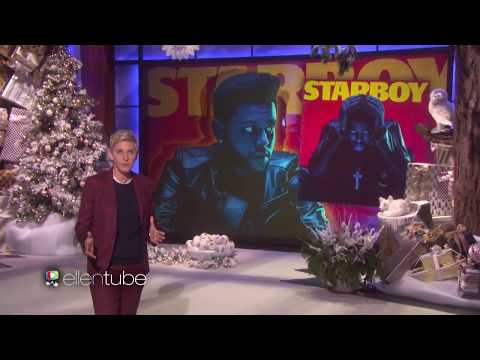 One of the best performance  The WeekndStarboyThe Ellen Show