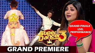 Super Dancer Chapter 3 Grand Premiere: Vaibhav & Saksham Perform Ganpati Dance