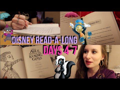 Reading Vlog // Disney Read-A-Long // Days 4-7