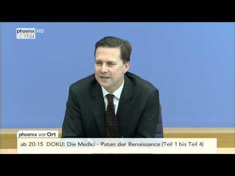 Skiunfall der Bundeskanzlerin - PK von Steffen Seibert am 06.01.2014