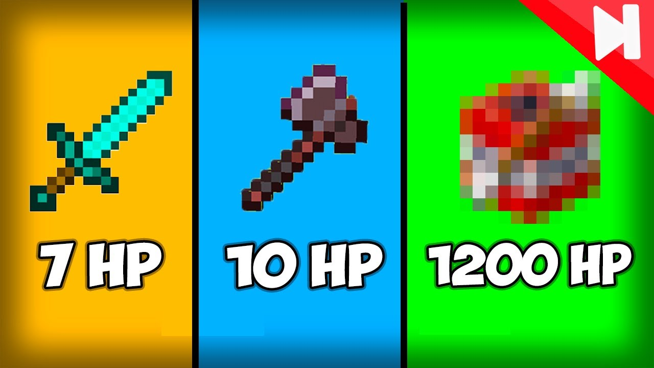 What's the Most Damage Possible in Minecraft 1.16?