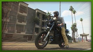 GTA 5 Stunts - EPIC Bike Stunt! - Challenges with Hazardous - ( GTA V Stunts & Fails )