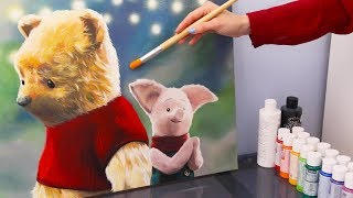 Painting Winnie the Pooh - Christopher Robin 2018
