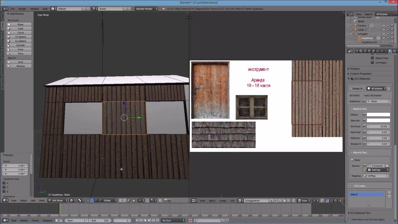 Haus Bauen Simulator : ets2 blender tools ein haus bauen toturial euro truck ~ Lizthompson.info Haus und Dekorationen