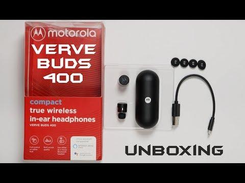 Motorola Verve Buds 400 Unboxing