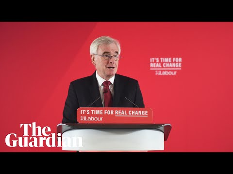 Boris Johnson is 'the least trusted prime minister,' says John Mcdonnell