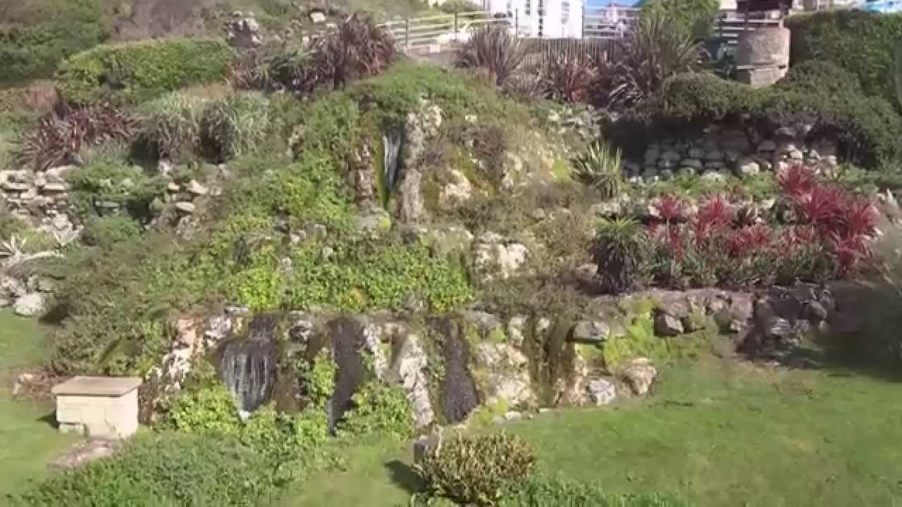 ventnor cascade isle of wight youtube