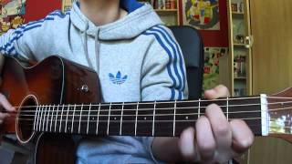 One Direction-More than this (Acoustic Guitar Cover)
