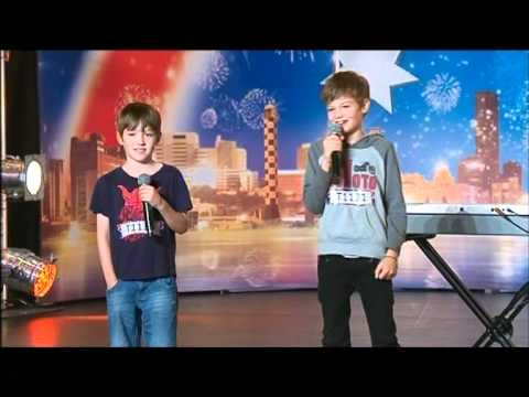 10 Days after Christmas  Kid Buskers  Australias Got Talent 2012 audition 9 FULL