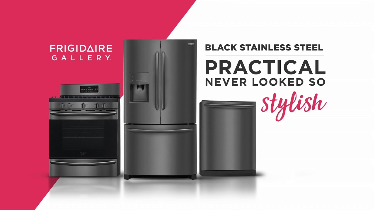 Frigidaire Gallery Black Stainless Liances You