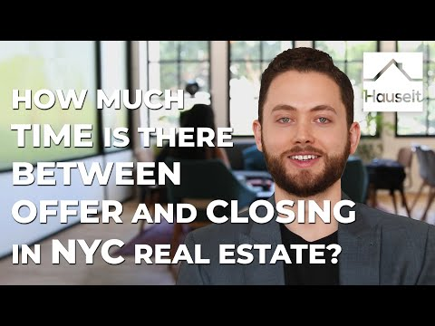 How Much Time Is There Between Offer and Closing in NYC Real Estate?