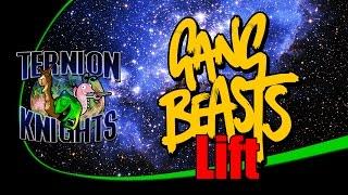Ternion Knights Play Gang Beasts on Lift!