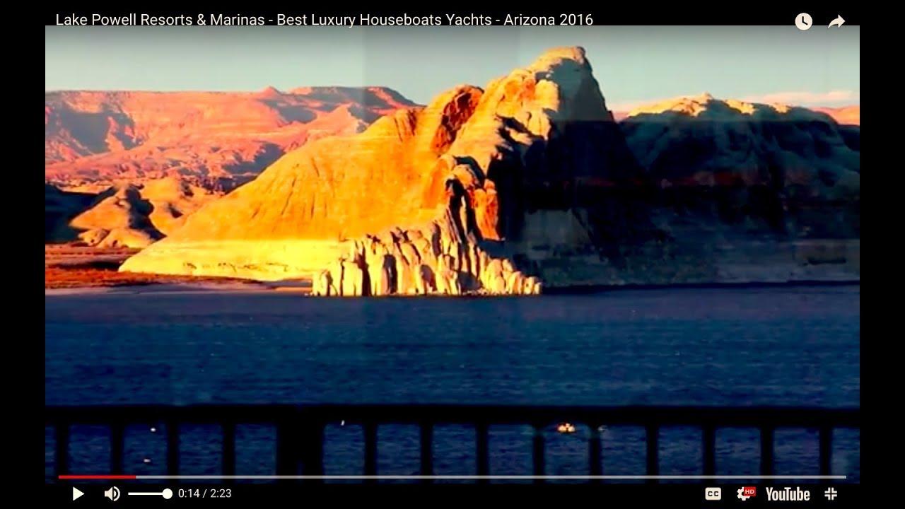 Lake Powell Resorts Marinas Best Luxury Houseboats Yachts