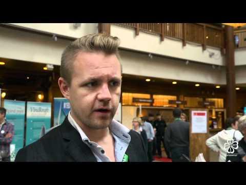 Fredrick Federley  Intervjuas. Centerpartiet partistämma  i Åre 2011