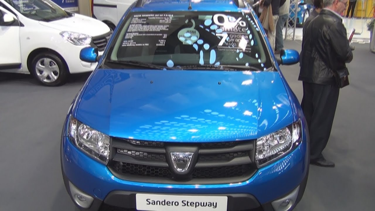 dacia sandero stepway ambiance 0 9 tce 90 exterior and interior youtube. Black Bedroom Furniture Sets. Home Design Ideas