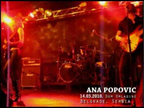 Ana Popovic 14.03.2010. Dom Omladine Belgrade Serbia - HUNGRY