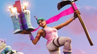 NEW BIRTHDAY SKIN & CHALLENGES!! Fortnite Daily Reset & NEW Items in Item Shop