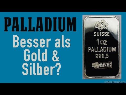 Palladium: Besser als Gold & Silber?