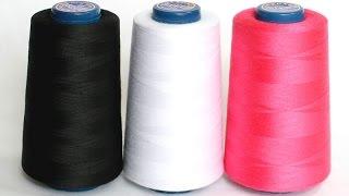видео Нитки для швейных машин | Нитки швейные, какие лучше?