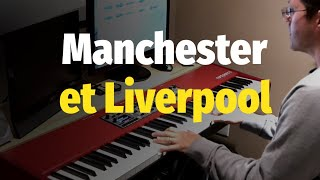 Manchester et Liverpool (Marie Laforêt) - Piano Cover & Sheet