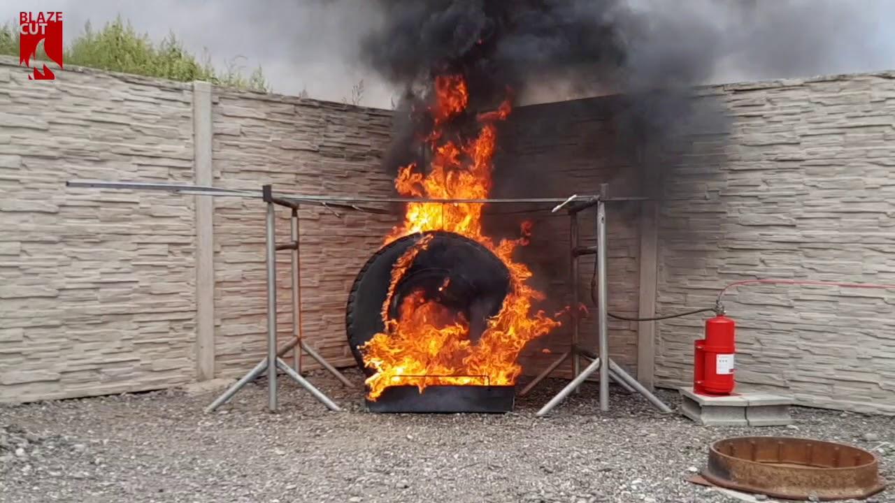 BlazeCut Tire Fire (C Series)