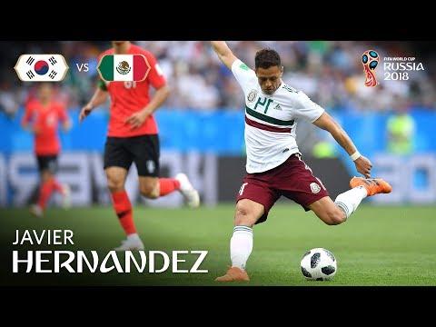 Javier HERNANDEZ Goal  - Korea Republic v Mexico - MATCH 28