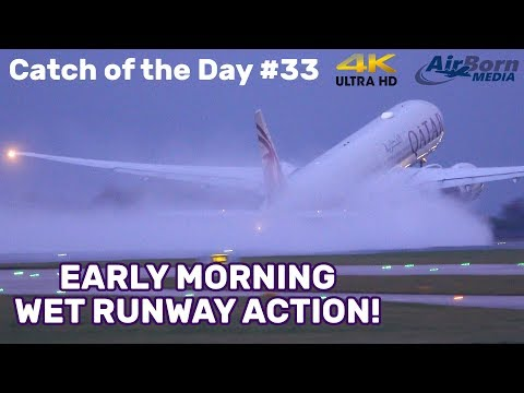 jet-blast!-wet-runway-action-4k-plane-spotting-manchester-airport-catch-of-the-day-#33