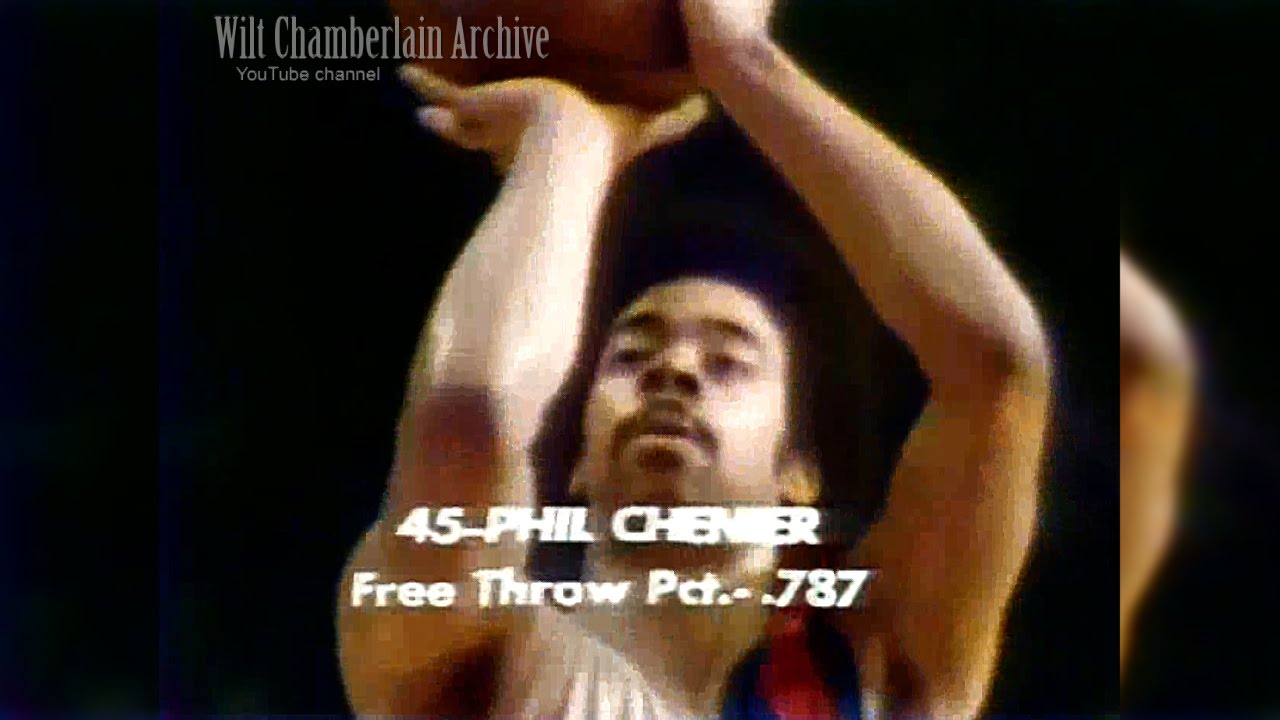 Phil Chenier 23pts 7reb 4a 4stl Knicks at Bullets 3 4 1973 Full