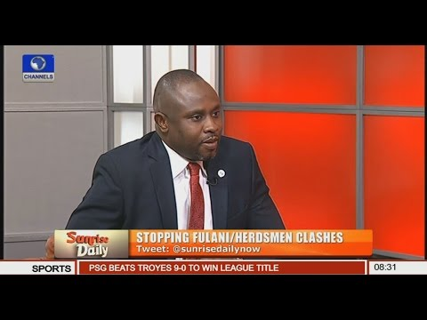 Chukwuemeka Eze Speaks On Stopping Fulani/Herdsmen Clashes Pt.1